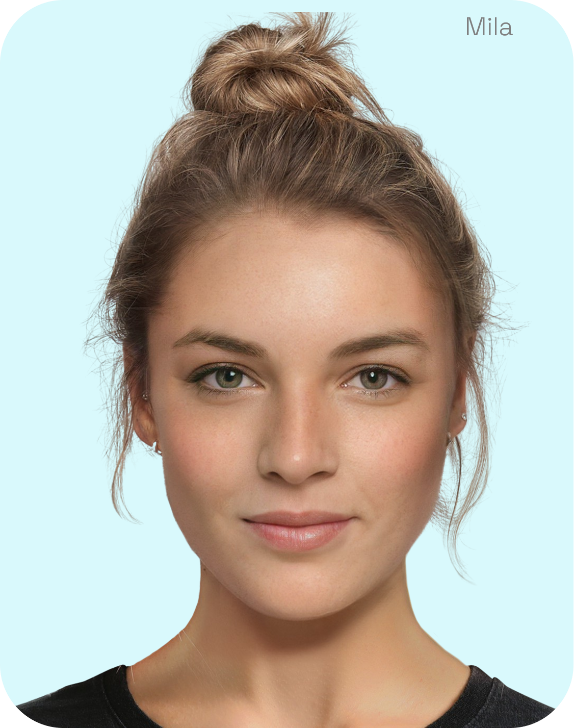 mila generated model from lalaland